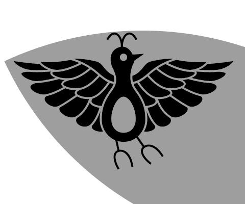 尾長鳥の胴体部分を修正する