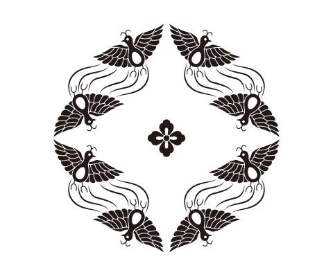 花菱のパーツを描く