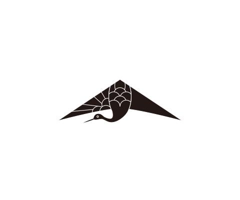 翼部分に羽を描く