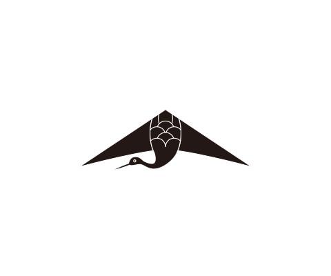 胴体部分に羽を描く