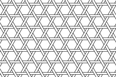 籠目のパターン9