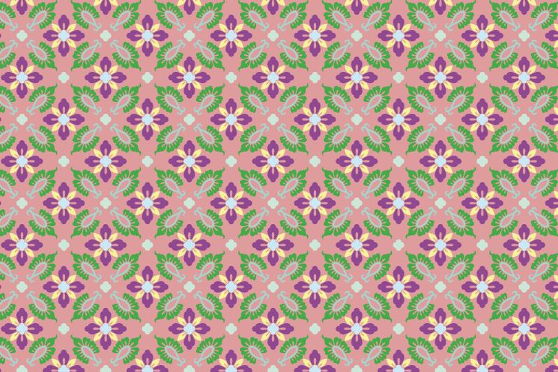 小葵パターン9