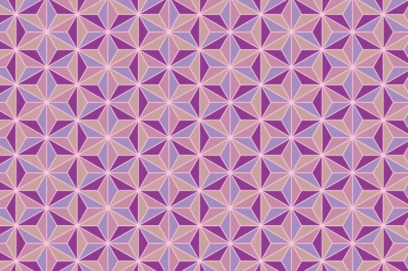 麻の葉パターン9