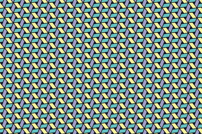 網代麻の葉パターン11