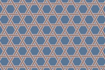 籠目のパターン12