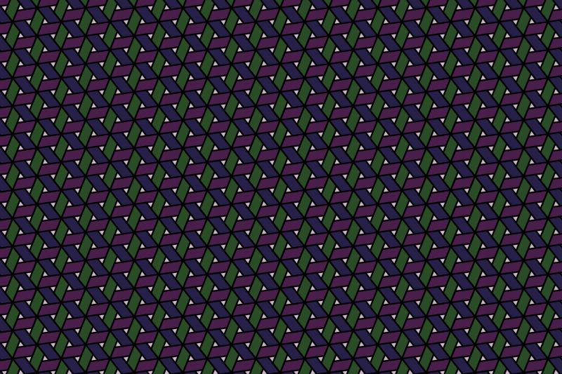 網代麻の葉パターン12