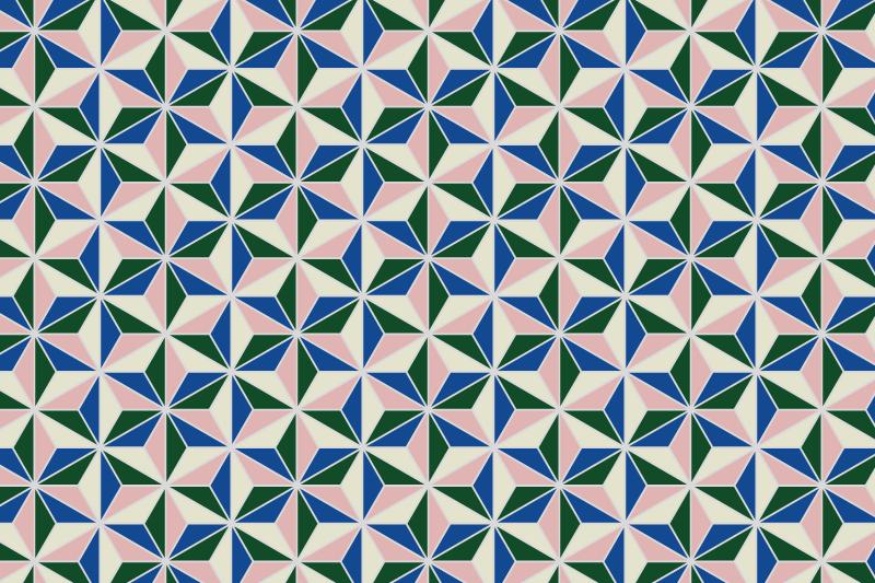 麻の葉パターン12