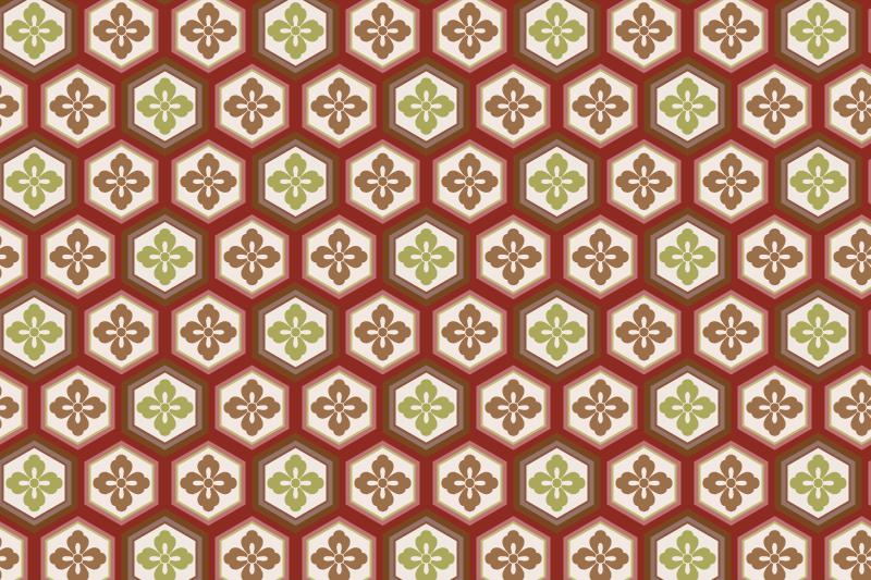 亀甲のパターン13