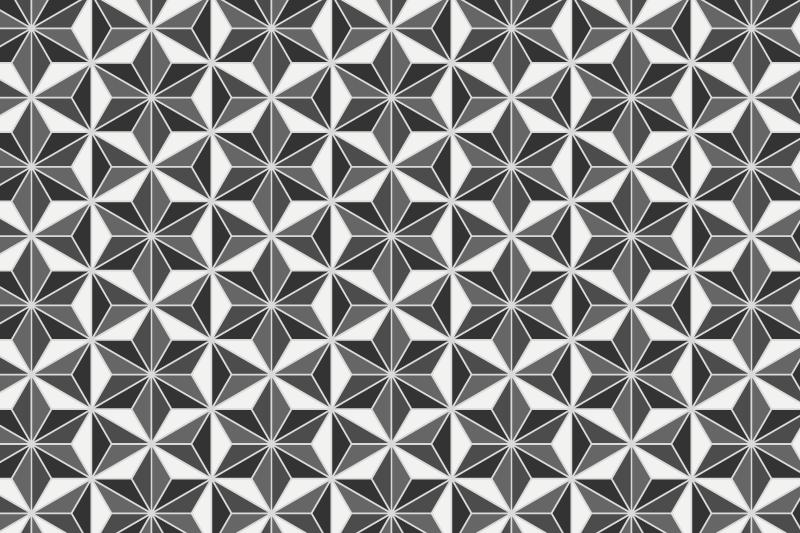 麻の葉パターン13