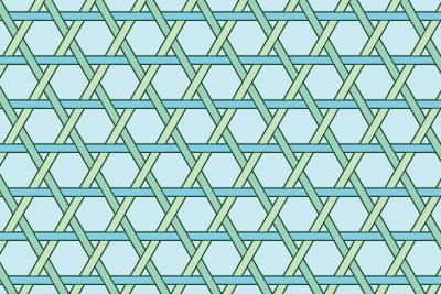 籠目のパターン14
