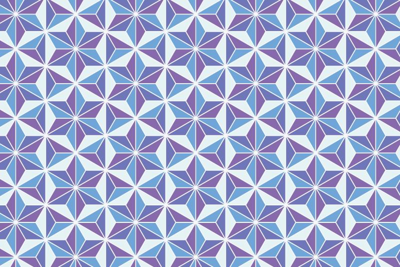 麻の葉パターン14