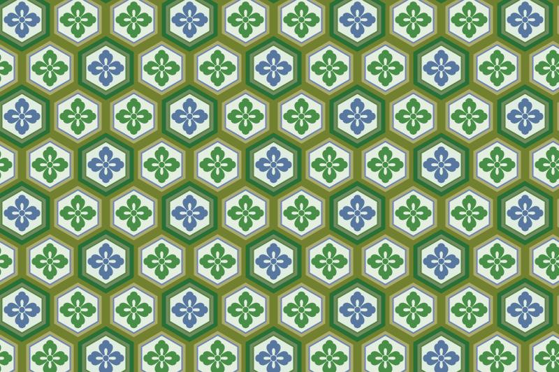 亀甲のパターン15