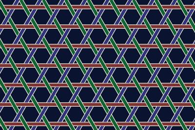 籠目のパターン15
