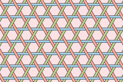 籠目のパターン16