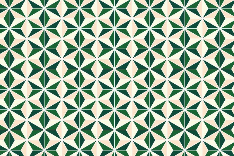 麻の葉パターン16
