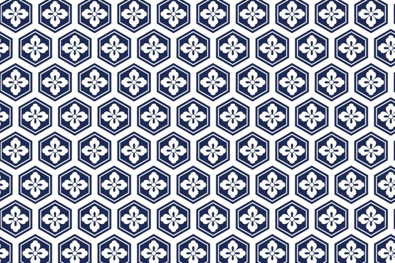 亀甲のパターン1