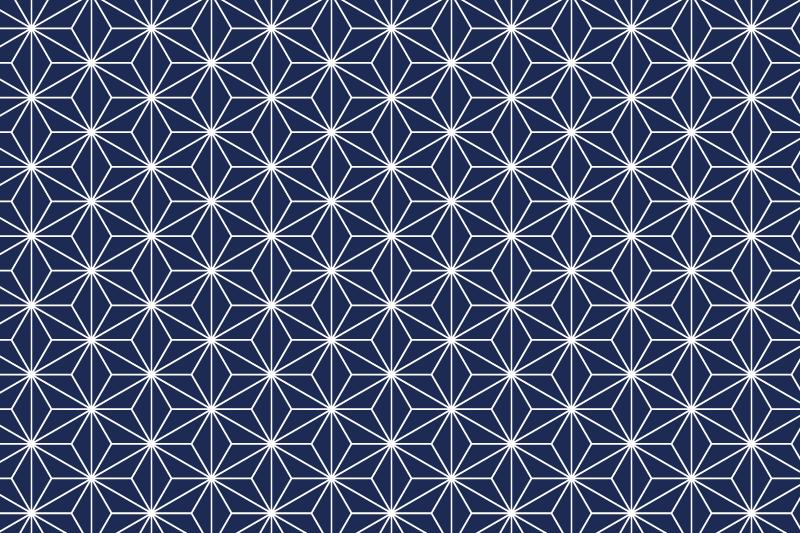 麻の葉パターン1