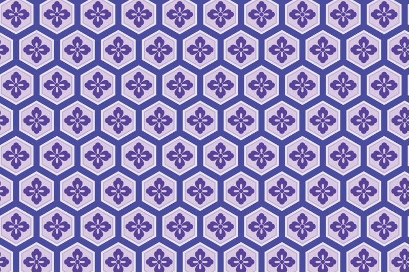 亀甲のパターン2