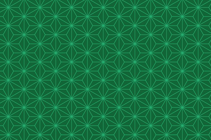 麻の葉パターン2