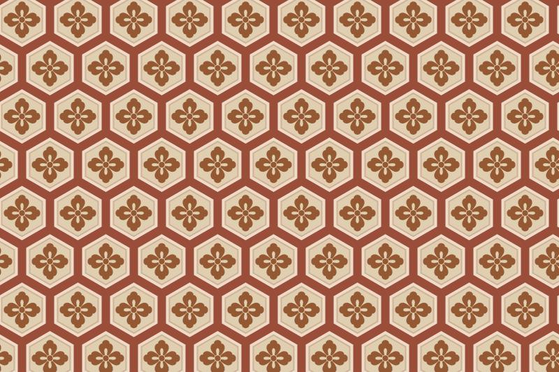 亀甲のパターン3