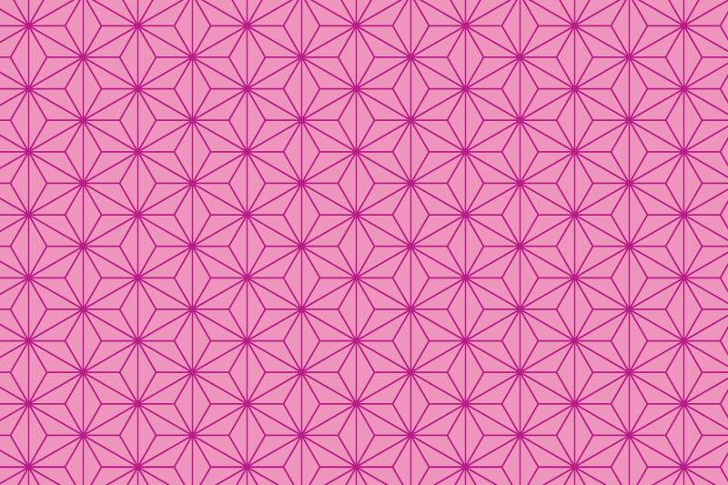 麻の葉パターン3