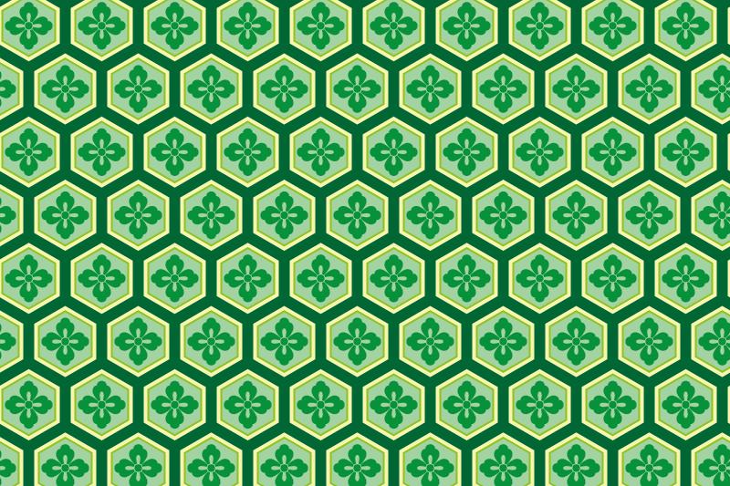 亀甲のパターン4
