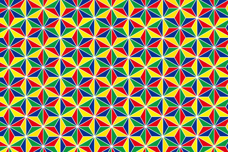 麻の葉パターン4
