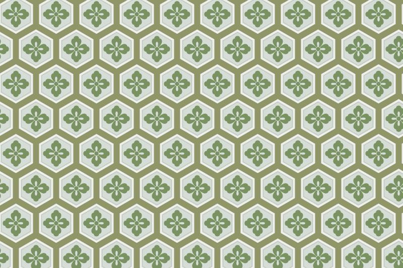 亀甲のパターン5