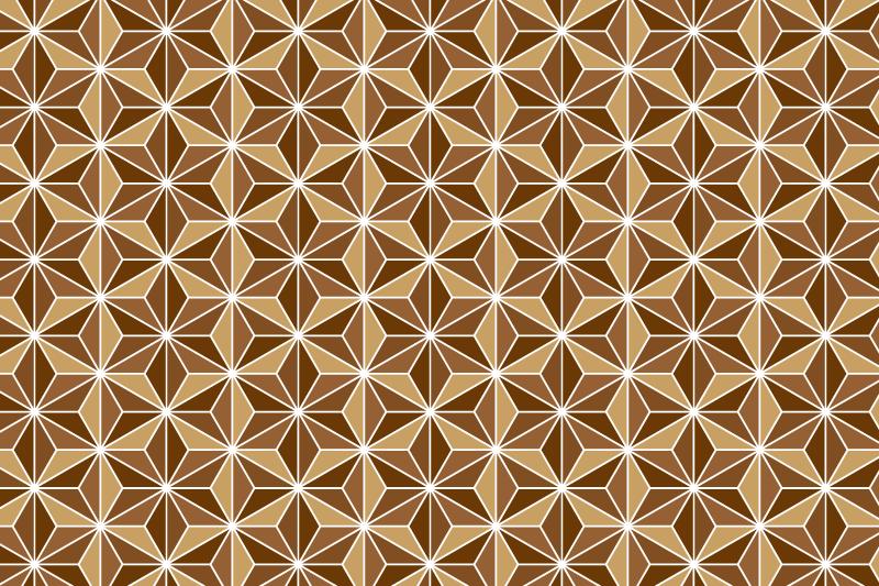 麻の葉パターン5