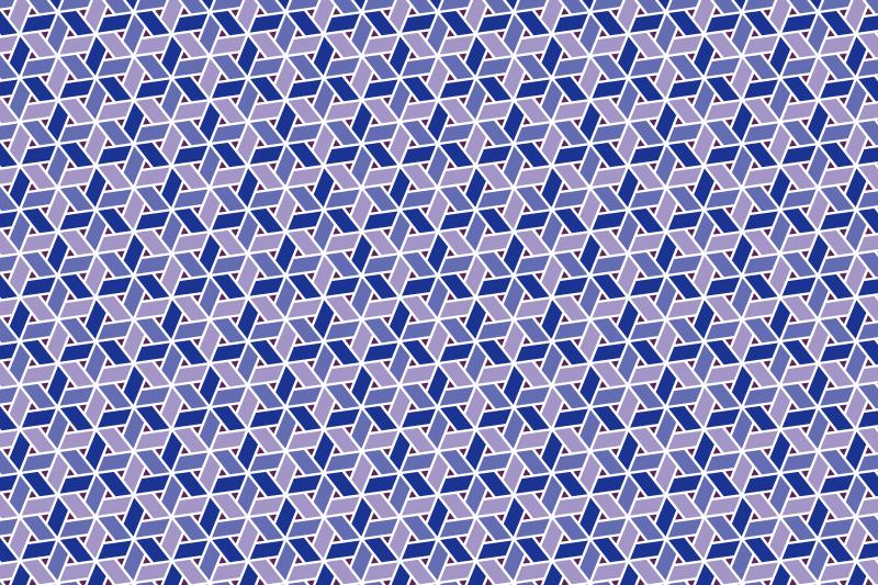 網代麻の葉パターン6