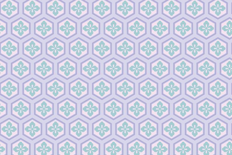 亀甲のパターン7