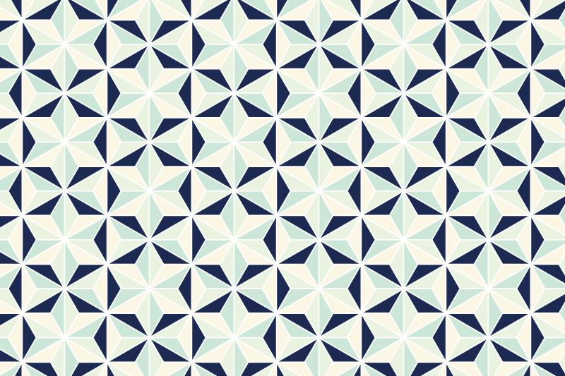 麻の葉パターン7