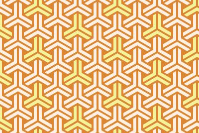 組亀甲のパターン10