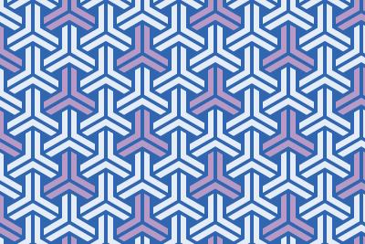 組亀甲のパターン11