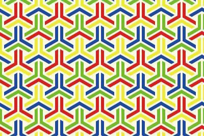 組亀甲のパターン13