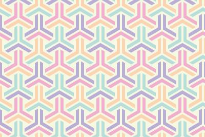 組亀甲のパターン14