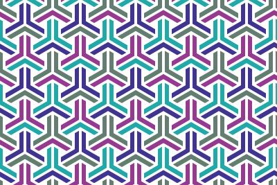 組亀甲のパターン15