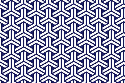 組亀甲のパターン1