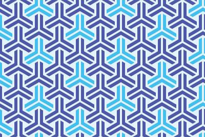 組亀甲のパターン5
