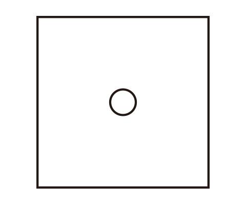 中心部分の円を描く