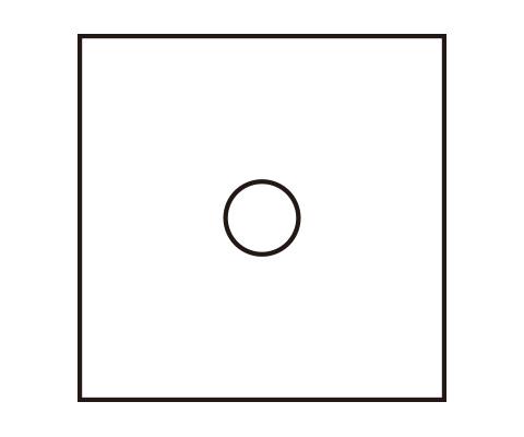 中心部分を描く