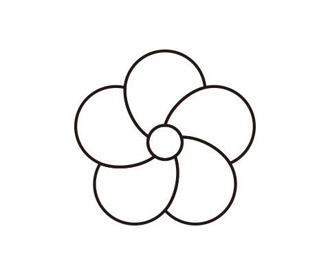 花びらをコピーする
