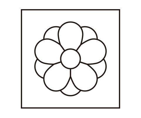 「八重梅を作る」の「花びらをコピーする」までをする