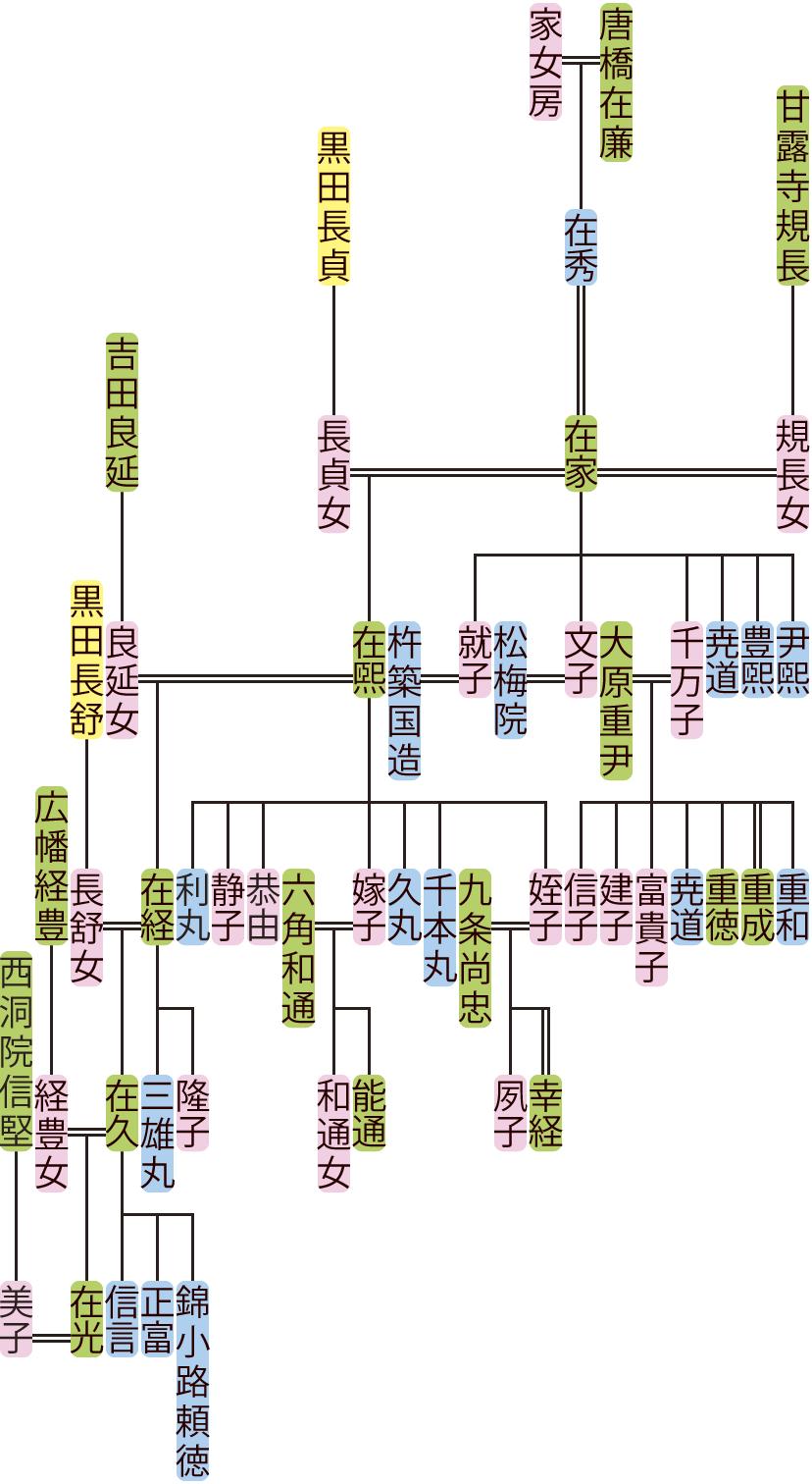 唐橋在家~在光の系図