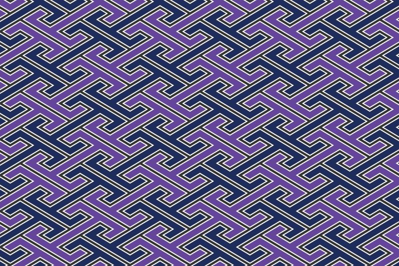 工字繋ぎのパターン9