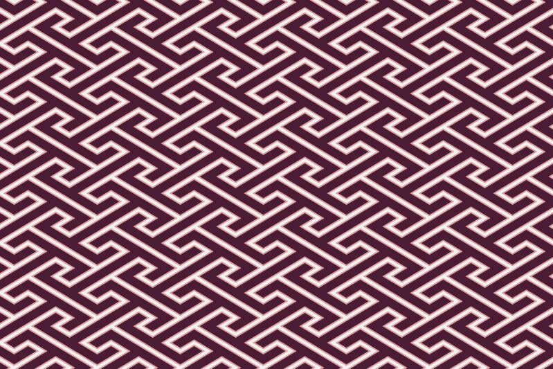工字繋ぎのパターン11