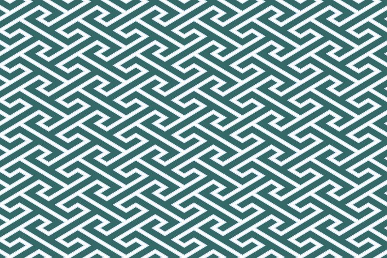 工字繋ぎのパターン12