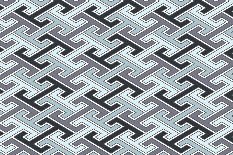 工字繋ぎのパターン15