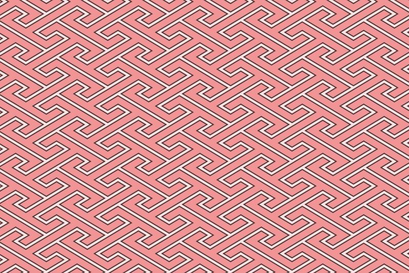 工字繋ぎのパターン2