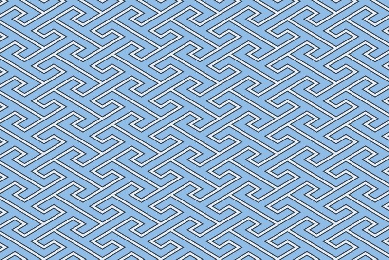 工字繋ぎのパターン3
